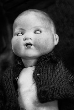 The Souls Of Dolls: Scary Photos Of Abandoned Children Companions | Bored Panda