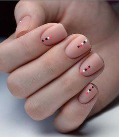 Diy Nails, Cute Nails, Pretty Nails, Nail Nail, Manicure Ideas, Manicure For Short Nails, Nail Design For Short Nails, Shellac Nails, Square Nail Designs