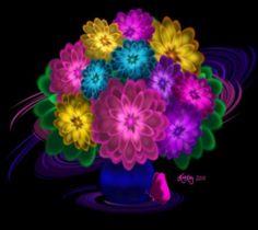 Neon Flowers | Neon Flowers