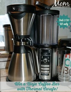 Want an awesome new coffee maker? Enter to win a Ninja Coffee Bar here!