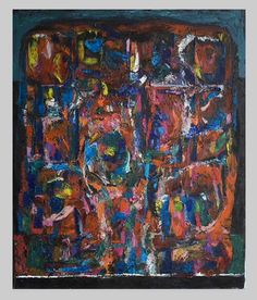 Abstract For The Loved Ones - http://www.contemporary-artists.co.uk/paintings/abstract-for-the-loved-ones/