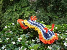 Ravelry: SEA SLUG Chromodoris quadricolor pattern by Tanja Osswald