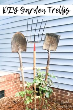 Old Garden Tools, Garden Power Tools, Diy Garden, Garden Art, Garden Design, Gardening Tools, Garden Sheds, Organic Gardening, Storing Garden Tools