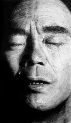 "Saatchi Online Artist: Scott Shellstrom; Graphite, Drawing ""Crying"""