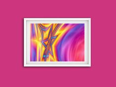 Shining Star, Printable Art, Digital Prints, Wall Art, Stars, Gallery, Fit, Frame, Amazing