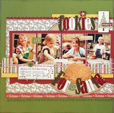 Girl Scout Scrapbook Layouts | bella blvd Girl Scout Cookies for Sale scrapbook layout