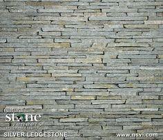Silver Ledgestone | Natual Stone Veneers Inc.