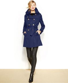 MICHAEL Michael #Kors Removable-Liner #Trench #Coat