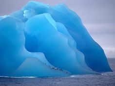 This color blue is unbelievable...it is caused by the super compressed water molecules.