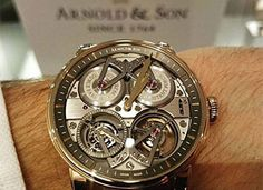 Arnold And Son Constant Force Toubrillon