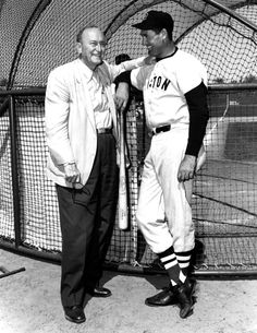 Ty Cobb and Ted Williams (Red Sox)