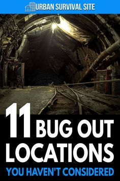 Here are some unusual ideas for bug out locations and some suggestions on what makes a good place to run to when the SHTF.