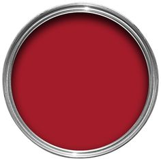 Juicy red dulux new living room pinterest paint for Can you use emulsion paint on canvas