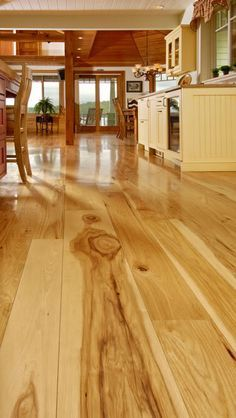 Reclaimed Heart Pine Flooring Always Reminds Me Of My