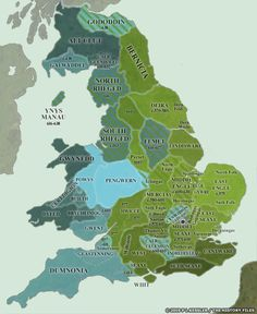 Step through the conquest of post-Roman Britain by the Angles, Saxons, and Jutes in a series of highly detailed maps. Scotland History, Uk History, European History, British History, Family History, American History, Anglo Saxon History, Ancient History, Ancient Aliens