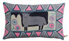 Caitlin Hinshelwood Textiles - Silk Sheep Cushion