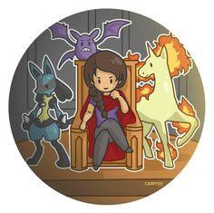 Demigods and their pokemon ! | by czarryy #PJO