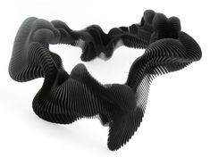 "Daniel Widrig's 3D-Printed Jewelry Redefines ""Wearable Technology"" at Design Miami (click through for more)"