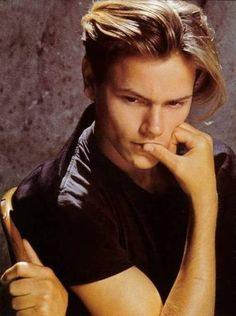 River Phoenix...I have a thing for tortured souls. Gone too soon