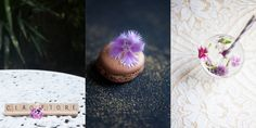 From macarons to mackerel you can use edible flowers to jush up all of your wedding food. Betti Confetti - natural wedding photography.