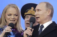 Watch: Slovenian Eurovision host performs as Putin Vladimir Putin, National Anthem, Slovenia, Number One, Singing, National Anthem Song