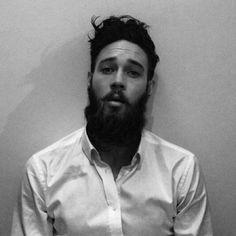 Billy Huxley - handsome full thick beard and mustache beards bearded tall man men men' style hair #beardsforever