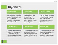 Lime green course template created in Storyline
