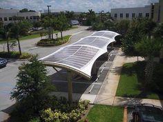 Solar Car Parks - SKYShades Australia