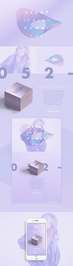 WAYLON // Beautiful Perfume Brand and Ui design concept by Jonathan Quintin on Behance.