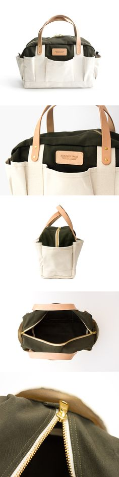 The Harper Tool Tote | Andover Trask Bag Co. | Made in Atlanta