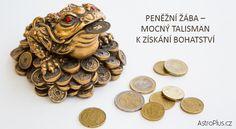 Peněžní žába – mocný talisman k získání bohatství
