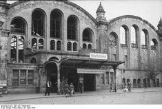 Berlin 1952 Stettiner Bahnhof schon als Nord Bahnhof umbenannt