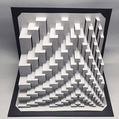 Quadroid KKV : kirigami pop-up paper sculpture Paper Wall Art, Wood Wall Art, Dubai Design Week, Folding Architecture, Paper Structure, Origami And Kirigami, Arches Paper, Math Art, Pop Up