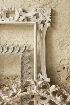 Vintage French Soul ~  So elegant and ornate and full of possibilities!  Hang on the wall empty around something you want to look more important or special.