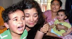 Sagarika Chakraborty from India won fight for her little kids with barnevernet.