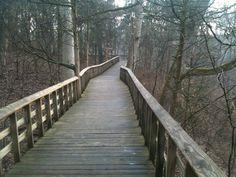 Nature Overlook Walking Path near Germantown Ohio