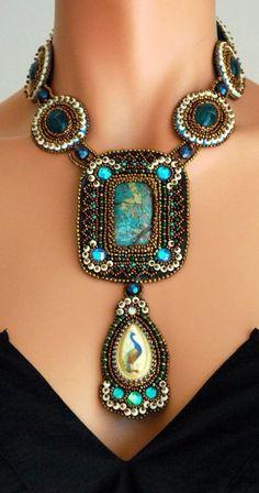 Luxury Turquoise | Peacock design