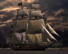 Free Image on Pixabay - Sailing Ship, Vessel, Boat, Sea Tall Ships, Watercolor Photoshop Action, Photo Café, Set Sail, Nature Images, Water Crafts, Battleship, Nice To Meet, Public Domain