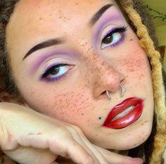 Cute Makeup Looks, Makeup Eye Looks, Eye Makeup Art, Pretty Makeup, Skin Makeup, Edgy Makeup, Makeup Inspo, Makeup Inspiration, Creative Makeup Looks
