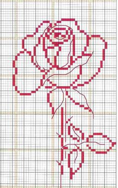 Cross stitch for beginners - love the simple look of this design.