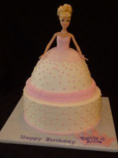Simple Elegance with a doll cake