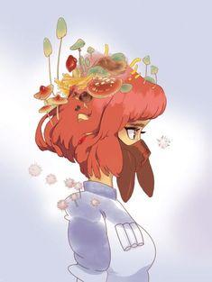 by pocketspell tags : ghibli art arte animation anime fanart nausicaa miyazaki girl topinterest