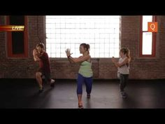 Qinetic Live: Shay Kostabi's Full Body Sculpt and Burn Class - YouTube