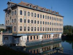 Seine et Marne : La chocolaterie Meunier à Noisiel
