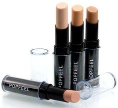 Popfeel Waterproof Concealer Contouring Makeup Face Concealer Foundation Natural Cream Concealer Highlight Contour Pen Stick