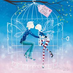 Love Birds Posters by Lorrie McFaul at AllPosters.com