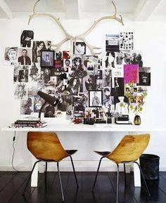 Méchant Design: moodboard walls