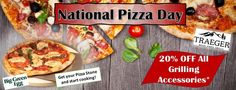National Pizza Sale! Save on fun grill accessories like pizza stones and more!