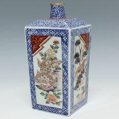 Purchase of Ko-Imari angle liquor bottle antique Tenpyodo