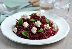 This Beetroot Ribbon Salad with Mint & Cashew Cheese is a summer alternative to one of my most popular blog recipes.
